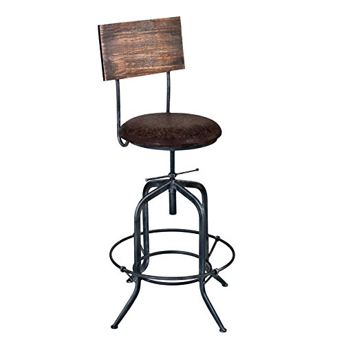 armen-living-lcdastsbbr-damian-adjustable-barstool-with-fabric-seat-industrial-grey-finish-brown