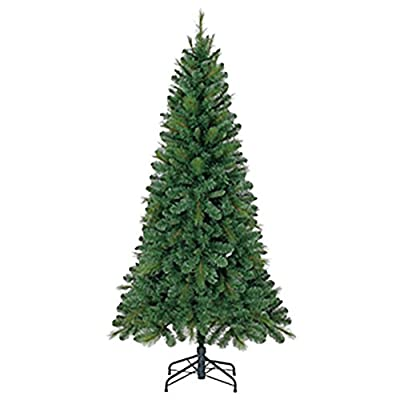 Home Heritage Evergreen Classics 6' Lansing PVC Unlit Artificial Christmas Tree and Stand