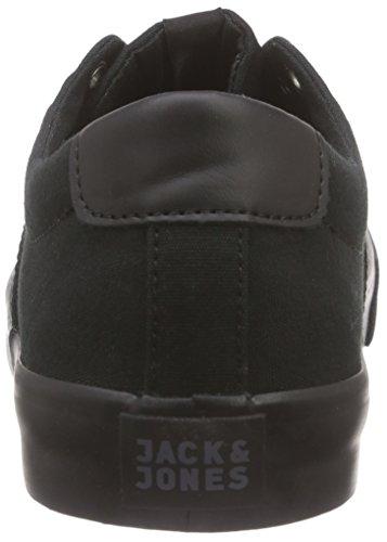 JACK & JONES Jjsurf Canvas Low Sneaker - Zapatillas Hombre Negro - negro