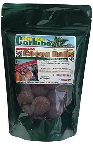 Price comparison product image Grenadian Cocoa / Cacao Balls - 12 Oz,  premium product of Grenada,  Caribbean)