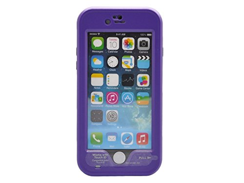 """Bolkin® Hybrid Armor Series Waterproof Case Cover & Stand for Apple Iphone 6 Plus 5.5"""" (purple)"""