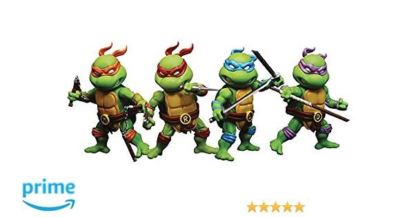 Herocross Teenage Mutant Ninja Turtles: Mini Series MHMF-302 4-Pack Action Figure Set