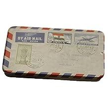 3PCS Cute Rectangle Tin Box Case Storage Accessory Cards/USB/Cigarette Holder, D