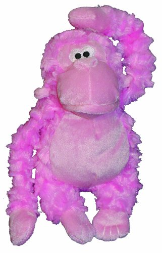 Mushroom 8 Inch Plush (Patchwork Pet Pastel Gorilla 8-Inch Squeak Toy for Dogs)