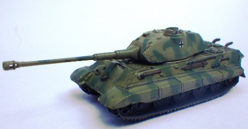 (Japan Import 1/144 World tank museum Series 05-86 Tiger II heavy tank (Porsche turret) 2-color camouflage separately)