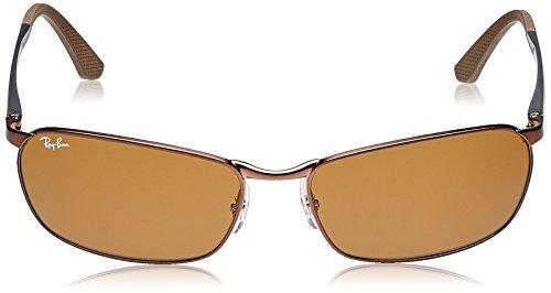 Ray-Ban mixte adulte Rb 3534 Montures de lunettes, Gris (Gunmetal), 62