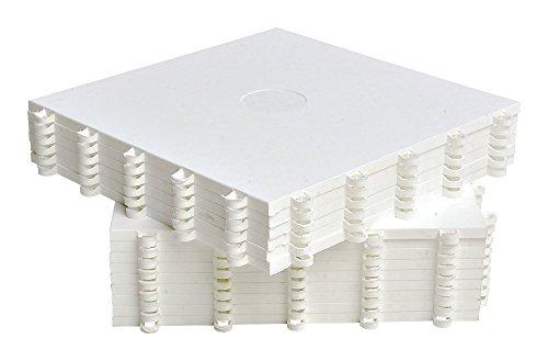 Hockey Revolution Dryland Flooring Tiles - MY PUZZLE - Build Your Own Training Platform (8 Tiles (9.4 sqft), Tile Only)