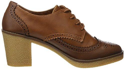 Para Cerrada Zapatos Mujer De Con Moka crax Tacón 51816 Marrón Cuero Punta Mtng RqYBA0n