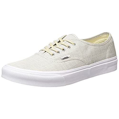 eec459f5816 60%OFF Vans Authentic Slim Sneakers (Chambray) Gray True White Womens 8