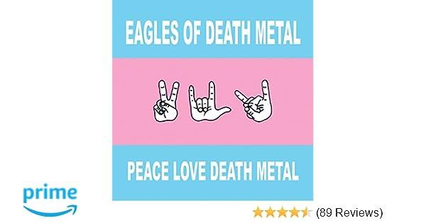 großer Rabattverkauf weltweit bekannt gut aussehen Schuhe verkaufen Peace Love Death Metal