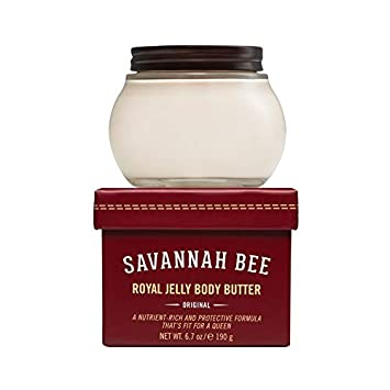 Royal Jelly Body Butter ORIGINAL Formula by Savannah Bee Company – 6.7 Ounce