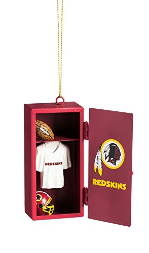 Team Sports America Washington Redskins Team Locker Ornament (Nfl Room Washington Locker Redskins)