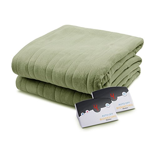 Biddeford 1003-9052106-633 Comfort Knit Fleece Electric Heat