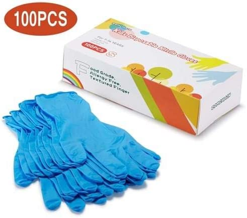 Kids Disposable Nitrile Gloves Years product image