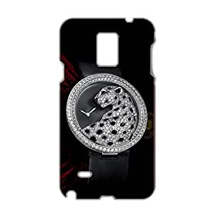 Unique Style Design Cartier Watch Phone 3D Plastic Phone Case for Samsung Galaxy Note 4 Luxury Cartier Series