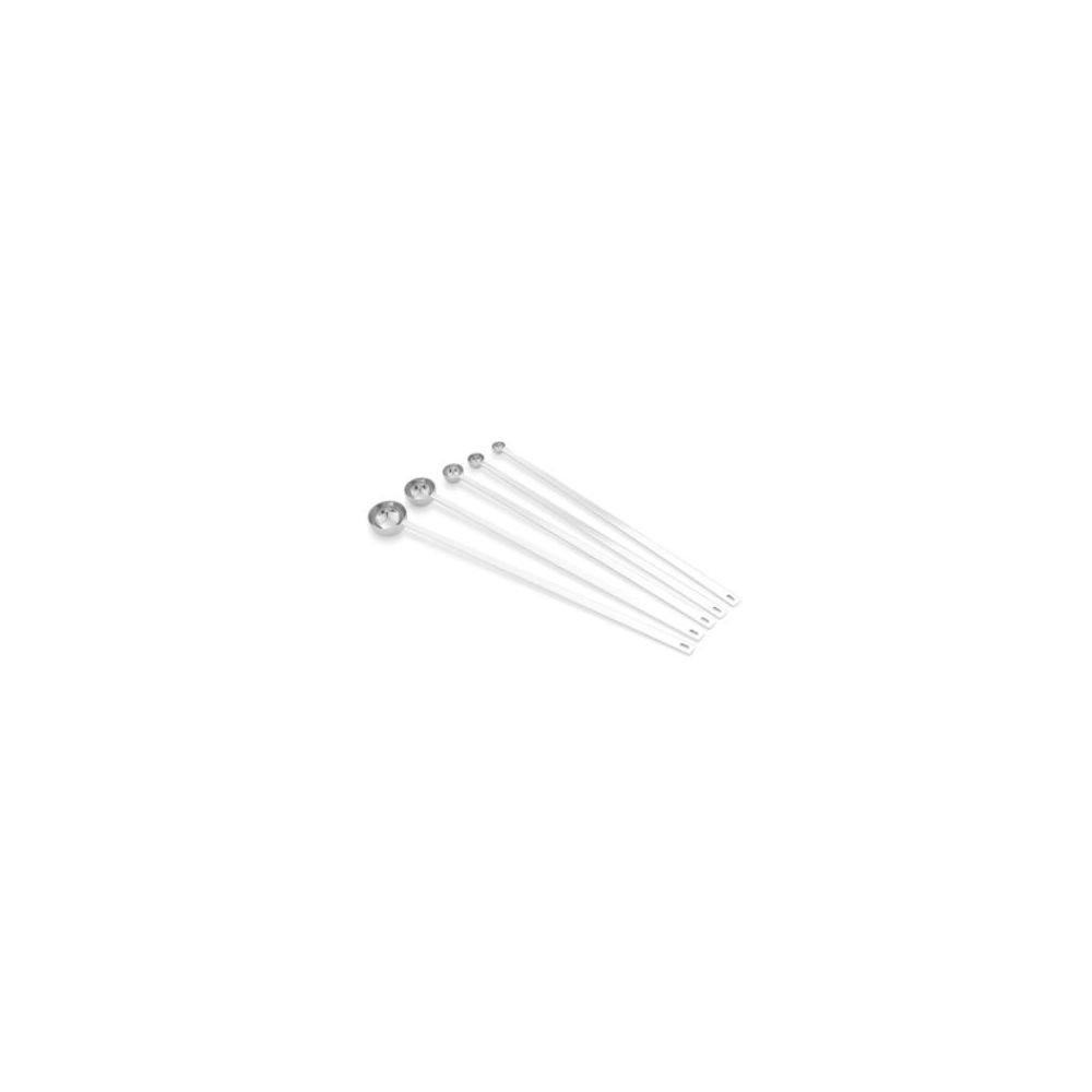 Vollrath S/S 5-Piece Long Handle Measuring Spoon Set