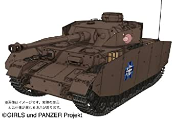 Platz Pz.Kpfw IV Ausf. D H Type Spec, Ankou-San Team Version from Anime TV Series of Girls und Panzer Kit, 1:35 Scale
