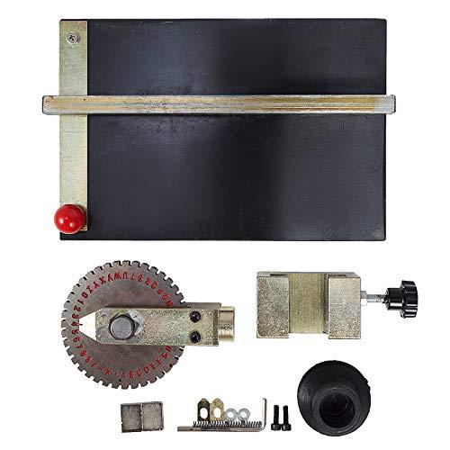 VEVOR Sheet Embosser Manual Deboss Metal Embosser Machine Dog Tag Specific Model Date Serial Number Stamping Embossing Marking Machine with 4MM Print Wheel by VEVOR (Image #4)