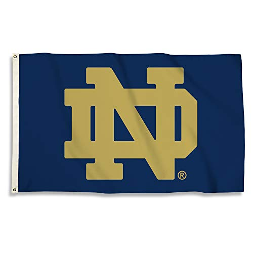 NCAA Notre Dame Fighting Irish 3-by-5-foot Flag ()