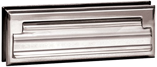Salsbury Industries 4035C Mail Slot, Standard/Letter Size, Chrome Finish Standard Mail Slot