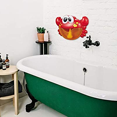Baby Bath Toy Creative Musical Bath Bubble Toy Crab Bubble Toy for Kids: Kitchen & Dining