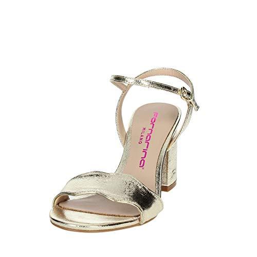 di Pe18y2875m095 Sandali platino Fornarina da donna w8C0aqR
