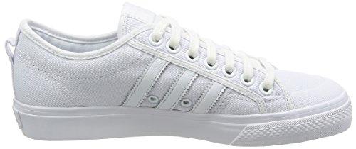adidas Nizza, Zapatillas de Deporte Para Niños Blanco (Ftwbla/Ftwbla/Ftwbla 000)