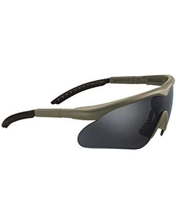 Swiss Eye Sportbrille Raptor, rubber dask green, 10163
