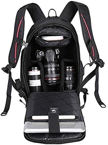 ZZJJPP SLR Camera Bag Mens Slung Heat-Resistant Canvas Travel Photography Storage Bag Color : Gray, Size : 171220cm