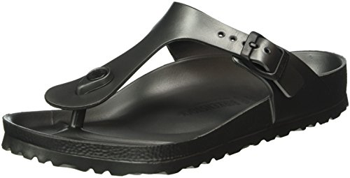 Birkenstock Women's Gizeh Anthracite Sandals Grey in Size US 7-7.5 Regular