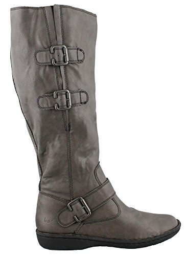 Women?s B. O C, Cleo Tall Shaft Boot GRAY 6 M