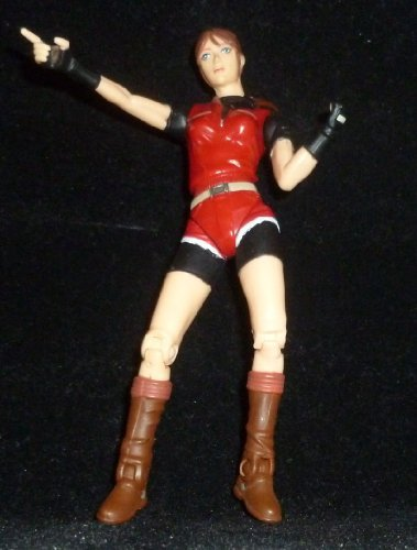 - Claire Redfield with Aim & Shoot Action and Zombie Cop with Exploding Action - Video Game Super Stars Presents Capcom Resident Evil 2 Action Figures