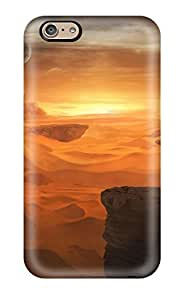 Awesome Landscape Flip Case With Fashion Design For Iphone 6