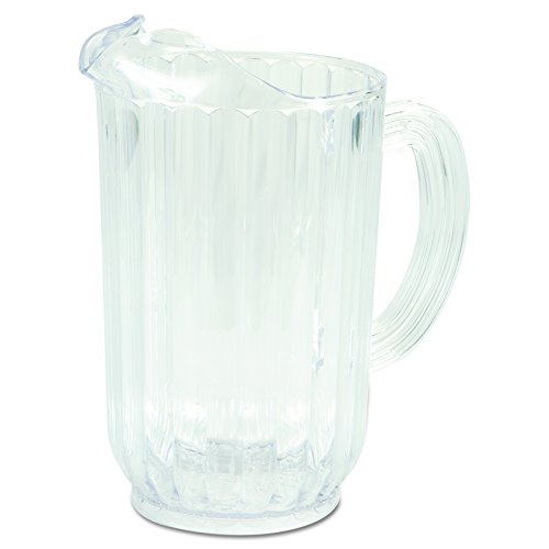 Rubbermaid Commercial Bouncer Pitcher, 72 Ounce, Clear, FG333900CLR