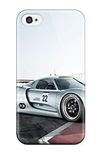 Awesome PWAyYAV3038uZduU CaseyKBrown Defender Tpu Hard Case Cover For Iphone 4/4s- 2011 Porsche 918 Rsr