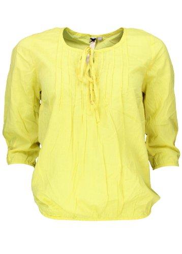 BROADWAY NYC - Camisas - Básico - manga 3/4 - para mujer Yellow - Energy Yellow