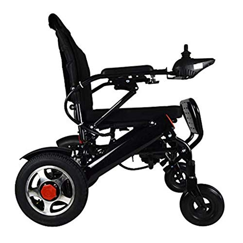 Amazon.com: 2019 New Majestic Buvan Remote Control Electric Wheelchairs Silla de Ruedas Electrica para Adultos FDA Approved Transport Friendly Lightweight ...