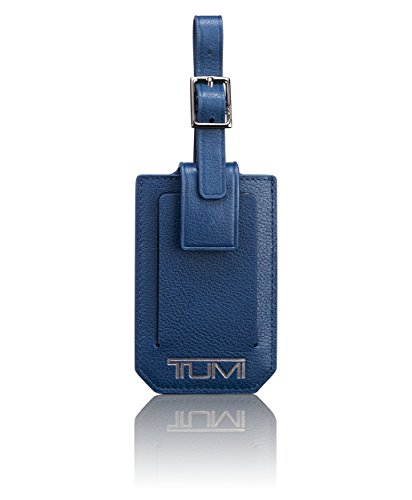 TUMI Men's Nassau Luggage Tag Accessory, -ocean blue textured, one size