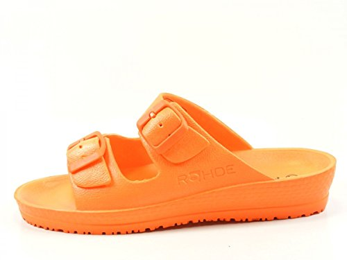 Rohde Spiaggia 7101 Zuecos para mujer Orange