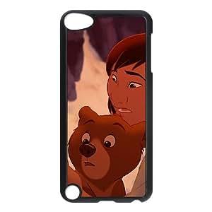 iPod Touch 5 Case Black Disney Brother Bear Character Kenai Khiy