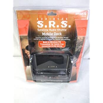 Audiobox S.R.S. Mobile Dock Sirius SIRCK1 Satellite Radio Shuttle