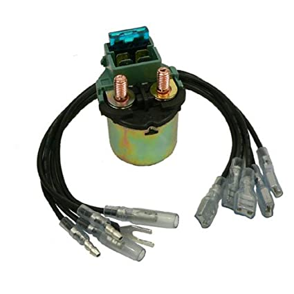 Amazon.com: DB Electrical SND6058 Universal Atv Utv Solenoid Relay on atv wiring harness diagram, atv contactor wiring diagram, atv starter diagram, atv horn wiring diagram,