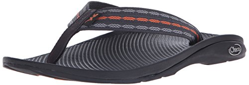 Chaco Men's Flip Ecotread Flip Sandal, Links Orange, 10 M US