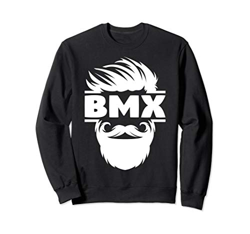 Bearded BMX Bike Sweatshirt - Skateboards Venue