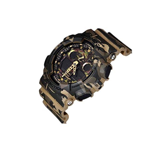 Casio Reloj Analógico para Hombre de Cuarzo con Correa en Resina GA-100CM-5AER 5