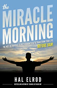 life changing books The Miracle Morning by Hal Elrod