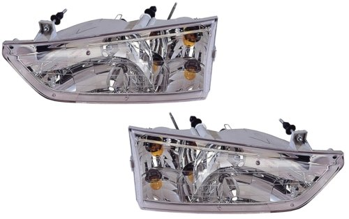 Ford Windstar Replacement Headlight Assembly - 1-Pair