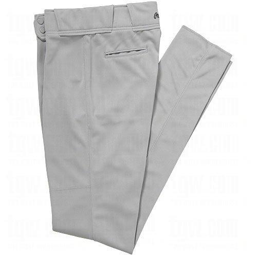Rawlings Men's Premium Unhemmed PPU138 Baseball Pant (40) (Baseball Unhemmed Pant)