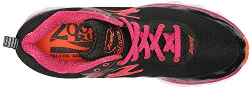 ZootZoot SOLANA Damen Laufschuhe - zapatillas de running Mujer Varios Colores - Mehrfarbig (black/punch/solar flare)