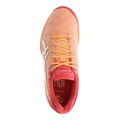 Asics Womens Solution Speed FF Shoes Mojave/White Od7KDO